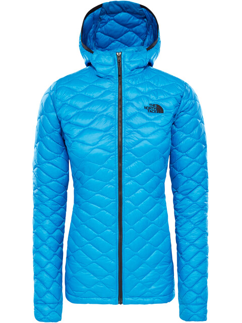 The North Face Thermoball Pro Hoodie Jacket Women Bomber Blue